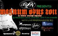 Magnum Opus 2011 Nashik  a live rock show in nashik.