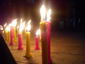 Candle march at nashik