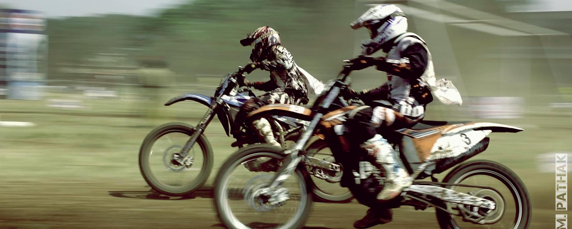 Gulf dirt track F.M.S.C.I National championship captured by Just Nashik