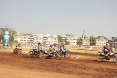 Gulf dirt track F.M.S.C.I National championship Nashik captured by Just Nashik