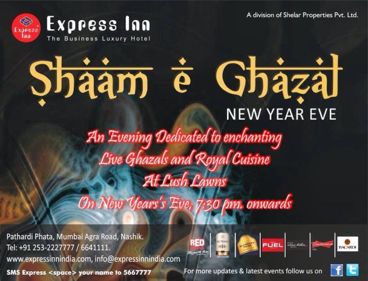 New year event in express in nashik 2013