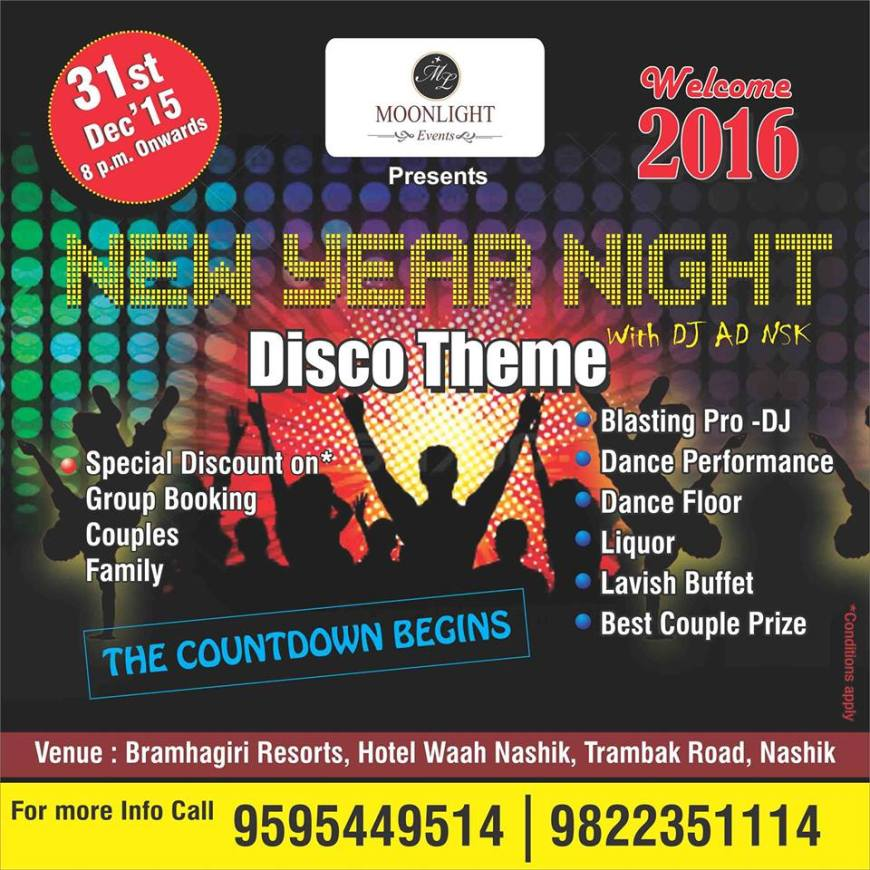 31st Party Nashik Bramhagiri Resort
