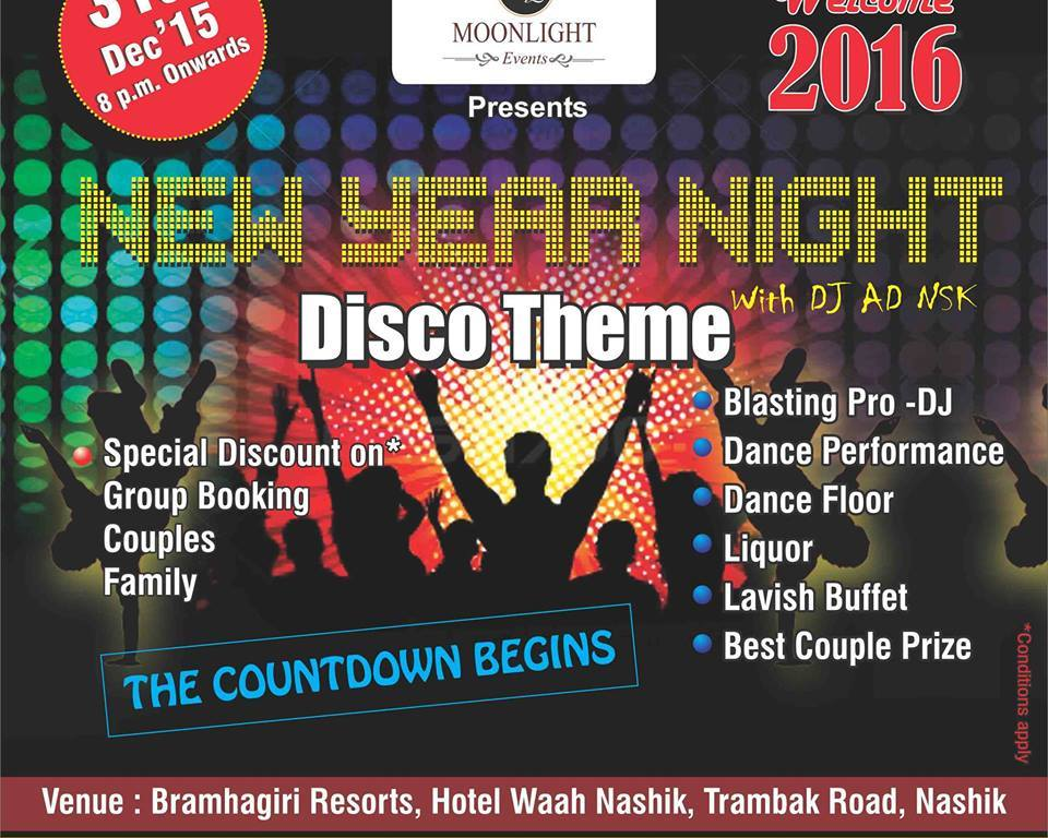 31st Party Nashik Bramhagiri Resort