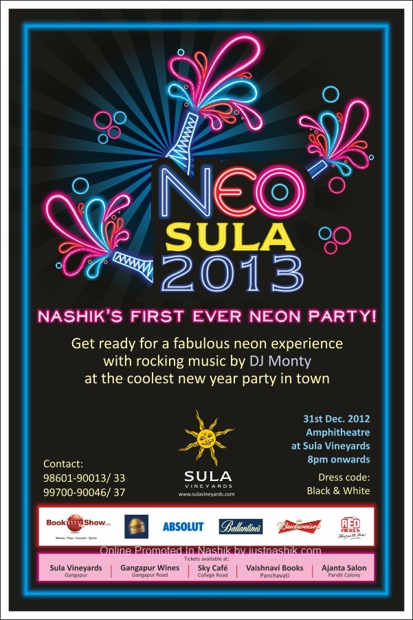 Neo SULA 13 , New Year Party at SULA Wines Nashik