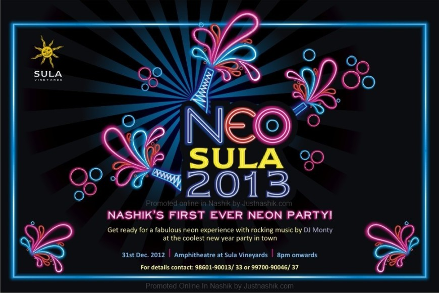 NEO 13 New Year Party at Sula Wines ,Nashik