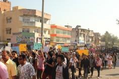 March for Delhi Gangrape Protest