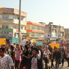 March For Delhi Gang rape Protest in Nashik