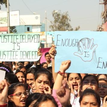 March For Delhi Gang rape Protest in Nashik