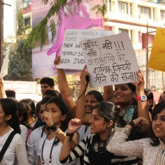 March for Delhi Gangrape Protest
