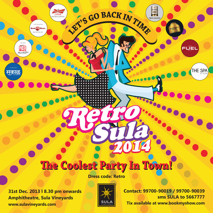 31s Eve Party at Sula Vineyards Nashik