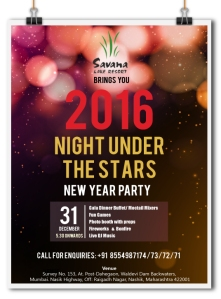 31st Dec Party at Savana Resort, Nashk