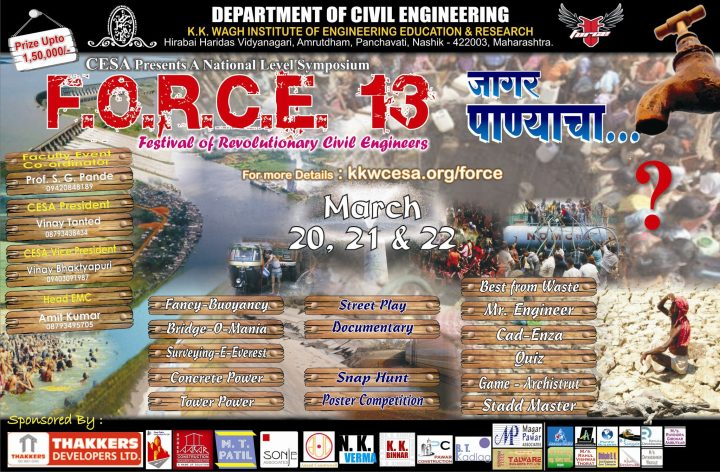 FORCE 2013 Nashik KKW Engineering College