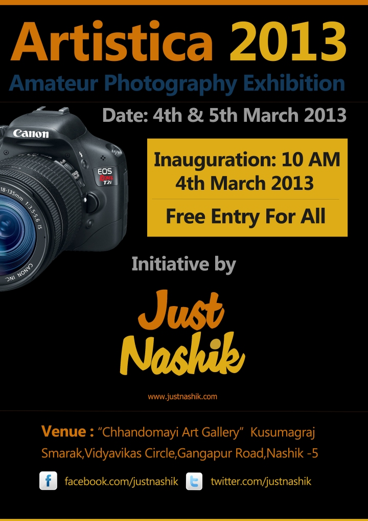 Artistica 2013: Amateurs Photography Exhibition By Justnashik.com