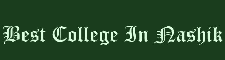 Best college in Nashik