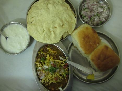 Famous misal pav in nashik city
