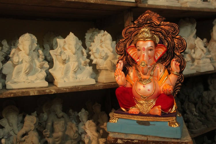 Eco Friendly Ganesh Shadu Mati