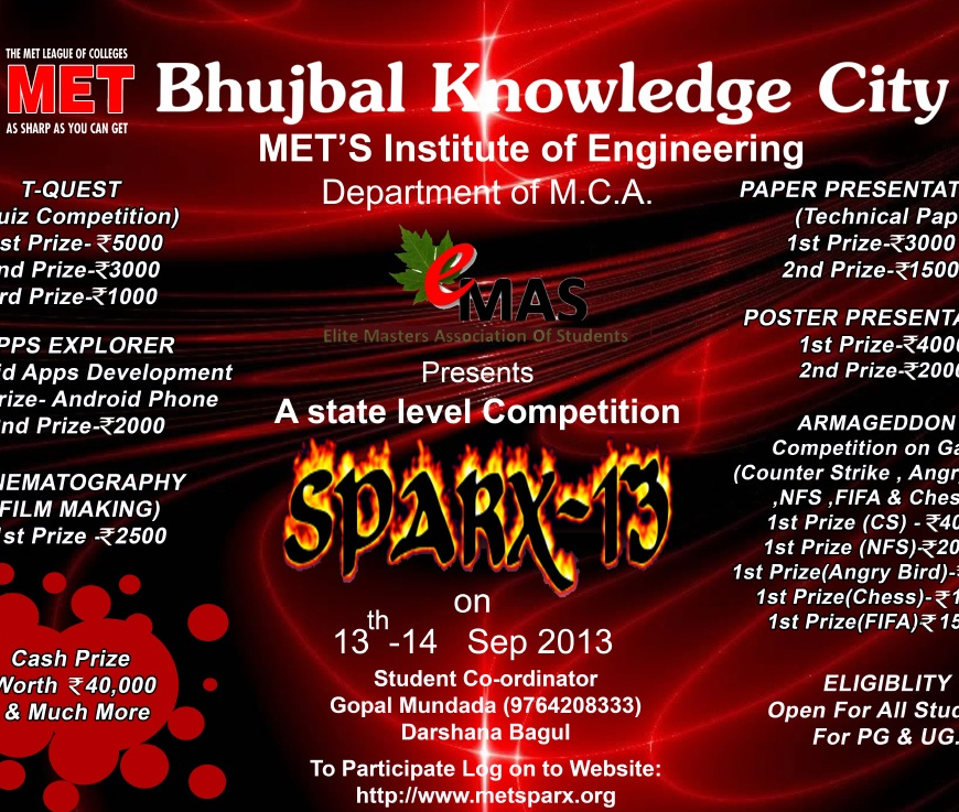 Sparx 2013 Technical Event