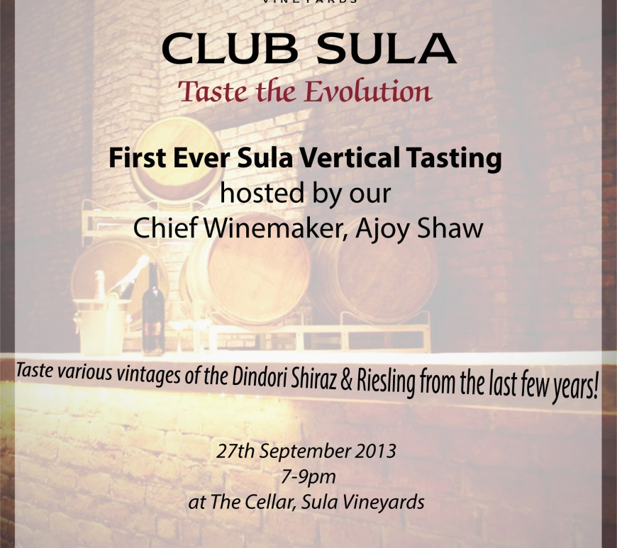 nashik page just nashik first ever sula vertical tasting