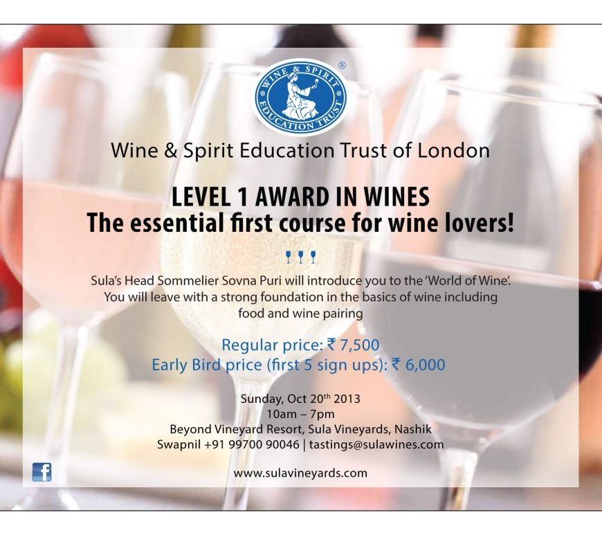 WSET Wine Course Nashik