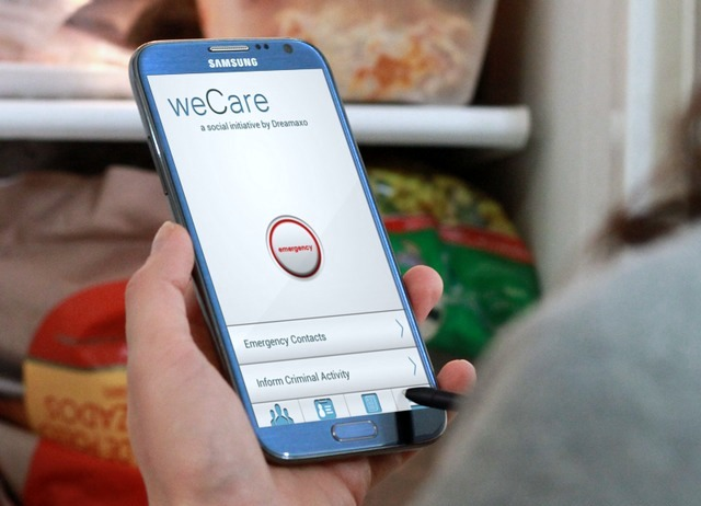weCare safety app