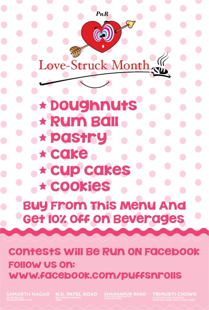 Puffs 'n' Rolls Love-Struck Month