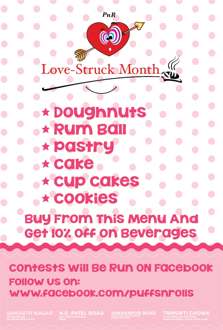 Puffs 'n' Rolls Love-Struck Month