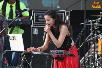 Vasudha Sharma at Sulafest 2014 nashik