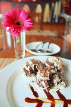 Tiramisu at Café Rose. Beyond Resort