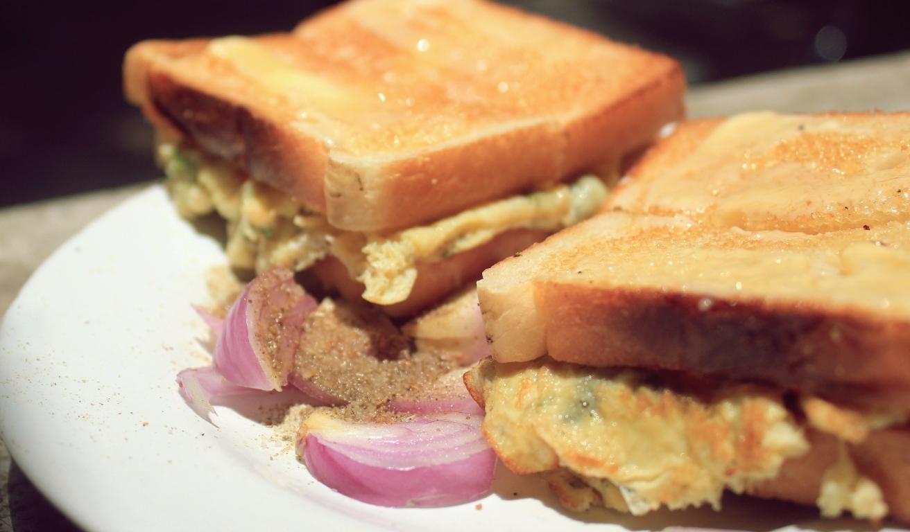 Mitravihar Bread Omelette