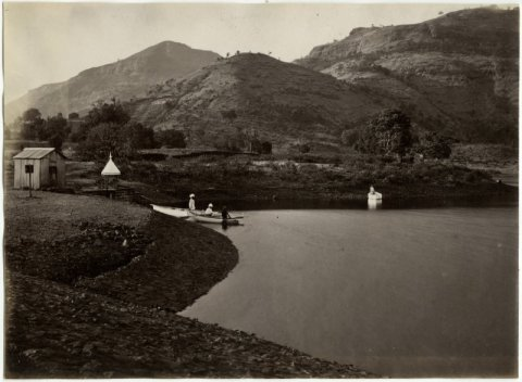 Igatpuri Lake in Maharashtra - c1870's