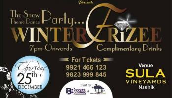 winter frizzy christmas eve party in nashik tomorrow