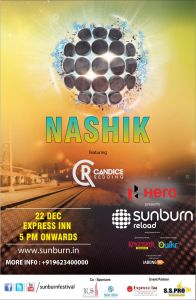 Sunburn reloaded in Nashik