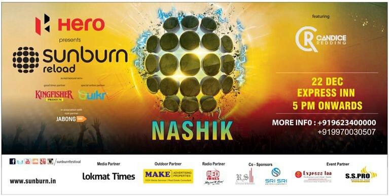 Sunburn Reloaded in Nashik