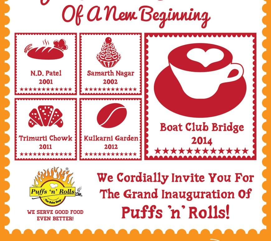Puffs 'n' Rolls New Outlet