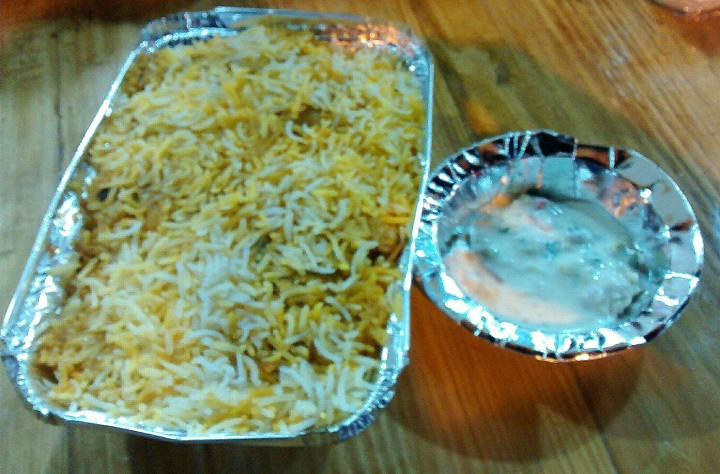 Biryani at Al Arabian Express Nashik
