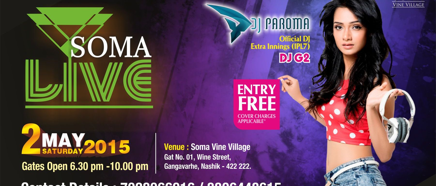 Kickstart your summers with DJ Paroma – Just Nashik