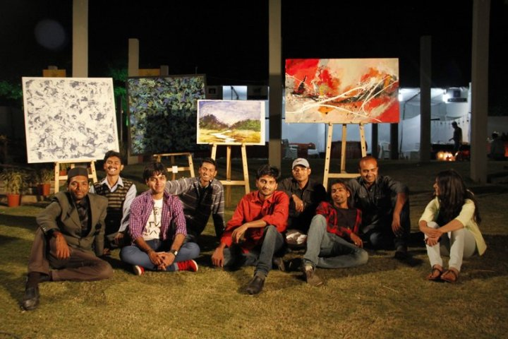 Exhibition by Ruchir Art Gallery At Sanskruti Festival at Sula Vineyards