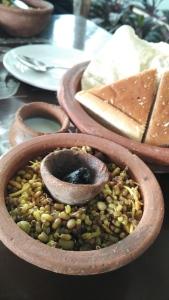 Nikhara Misal Pav At Owaaraa Restaurant Nashik