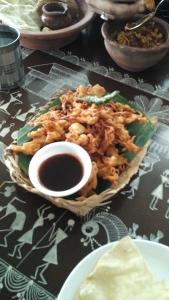 Bhaji At Owaaraa Restaurant Nashik