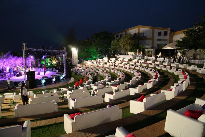 Destination Vineyard Wedding in the Lush Sula Estate