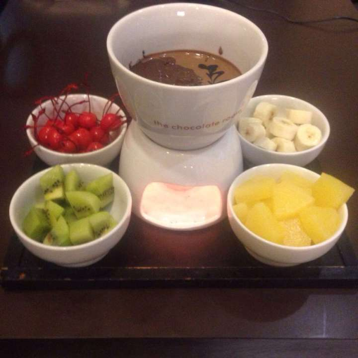 Chocolate Fondue at The Chocolate Room Nashik