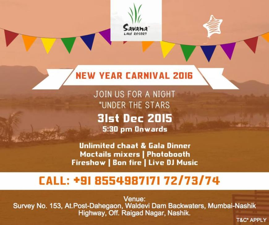 Savana Lake Resorts 31st Dec Party