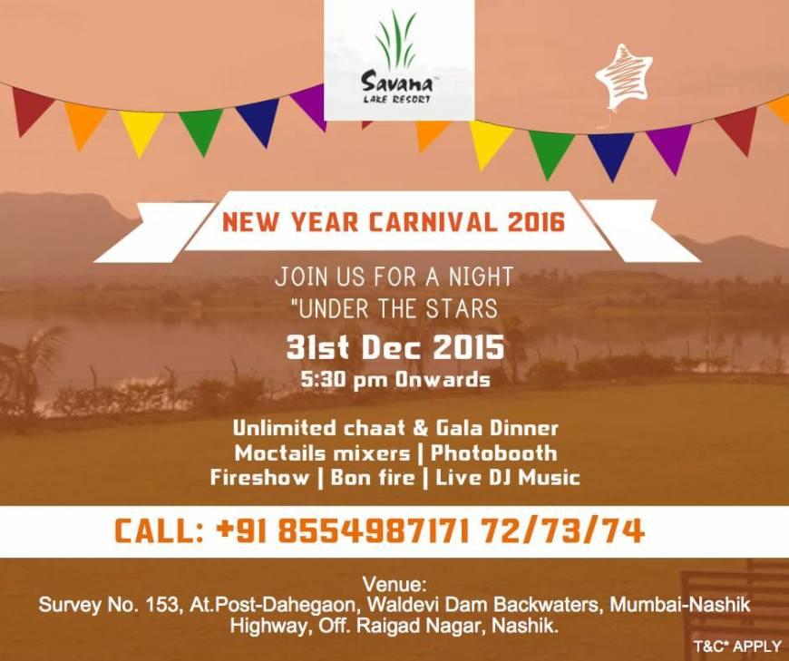 Savana Lake Resorts 31st Dec Party
