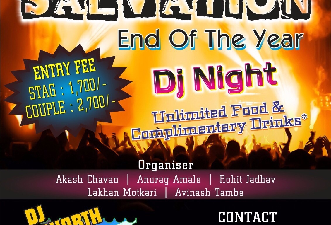 Salvation End of the Year, DJ Night, Nashik
