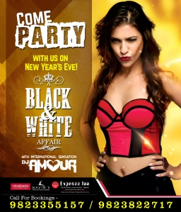 A Black & White Affair Express Inn Nashik