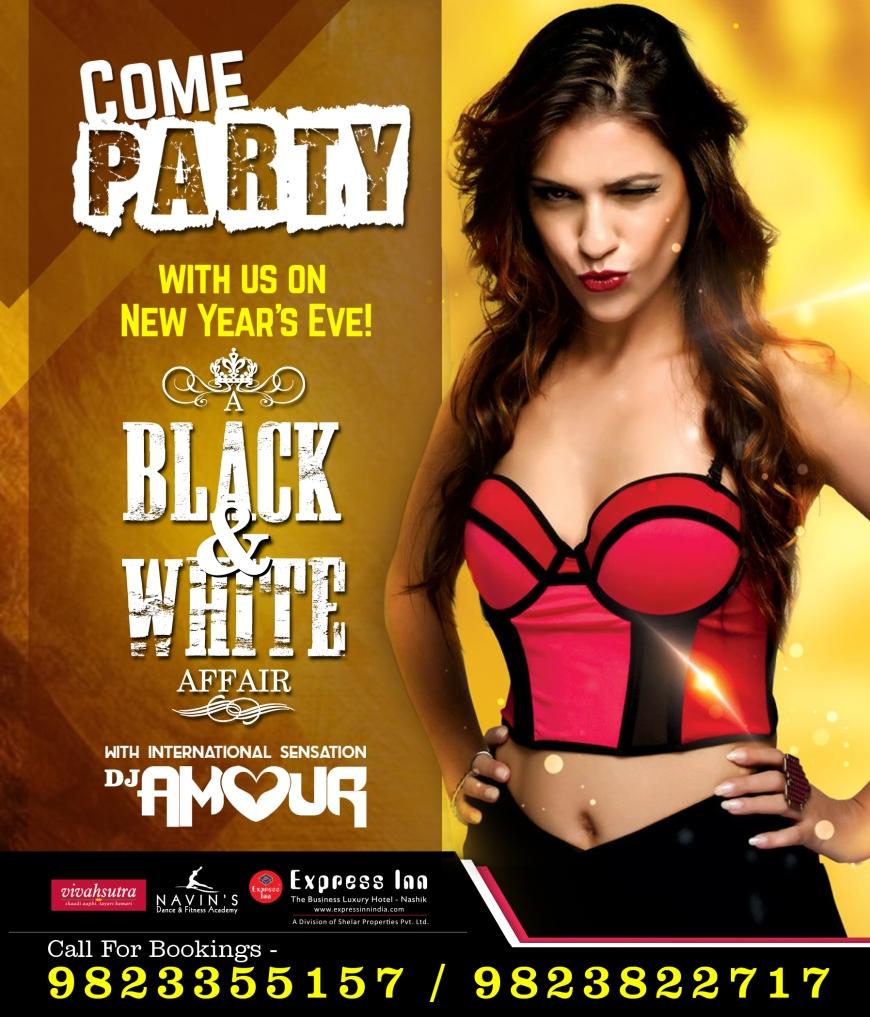 A Black & White Affair Express Inn Nashik