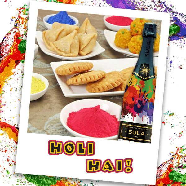 Pop a Bubbly to celebrate the colourful festival