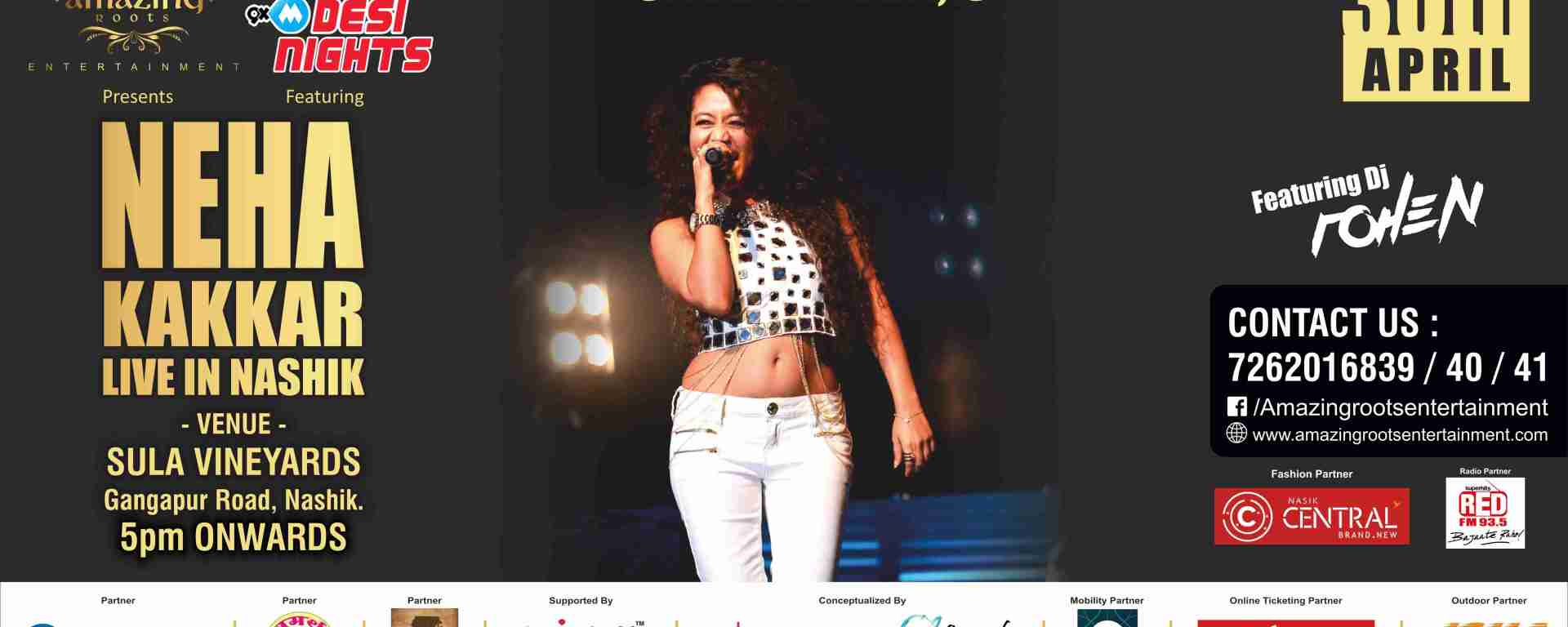 Neha Kakkar Live in Nashik on 30th April 2016 – Just Nashik