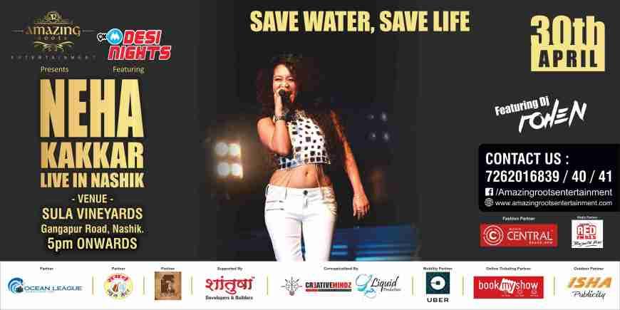 Neha Kakkar Live in Nashik