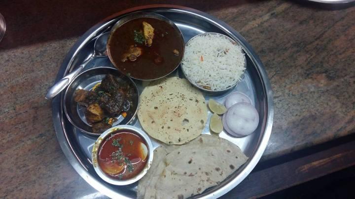 Maharashtra Darbar Chicken Thali